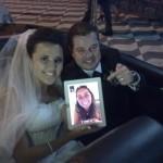 Um iPad no casamento